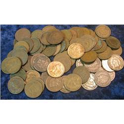 43. (94) Old U.S. Indian Head Cents.