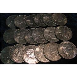 45. (18) Eisenhower Dollars. Mixed date and grades.