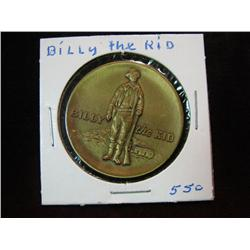 992. 1869-1969 Billy the Kid, Lincoln County Centennial Bronze Medal.