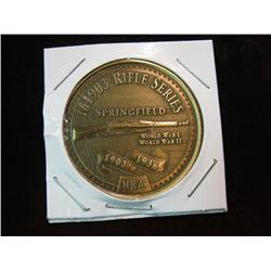 995. NRA  M1903 Rifle Series Commemorative Bronze Medal.