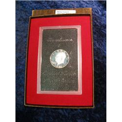 1090. 1971S Silver Proof Eisenhower Dollar. Original as Issued.