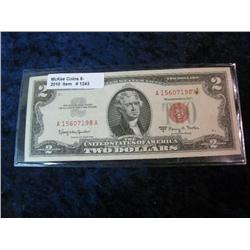 1243. Series 1963A US $2.00 United States Note.