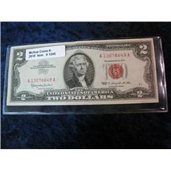 1245. Series 1963 US $2.00 United States Note.