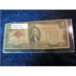 1247. Series 1828D $2.00 United States Note.
