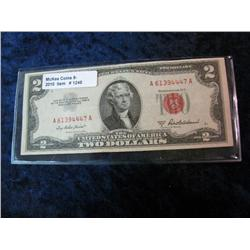 1248. Series 1953A $2.00 United States Note.