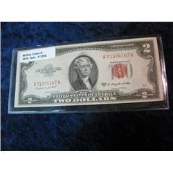 1250. Series 1953B $2.00 United States Note.