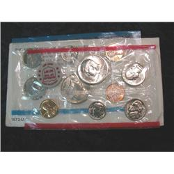 523. 1972 US Mint Set. Original as Issued.