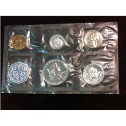524. 1963 US Proof Set. In original cellophane as Issued.