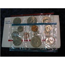 531. 1980 US Mint Set. Original as Issued.