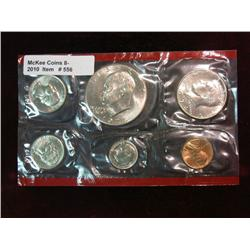 556. 1974 Denver U.S. Mint Set in red cellophane.
