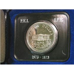 559. 1873-1973 Canada Prooflike Prince Edward Island Commemorative Dollar.