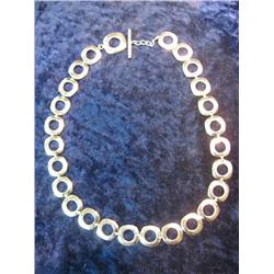573. 18' .925 Fine Silver 56.50 Grams Necklace.