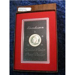 604. 1974 S Silver Proof Eisenhower Dollar in original of issue.