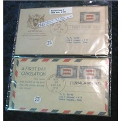 639. (4) Different Scott # 919 First Day Covers. Catalog value $16.00.