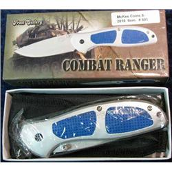 "801. Frost Cutlery Combat Ranger 5"" Closed Tactical Knife."