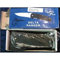 "803. Frost Cutlery Delta Ranger 4 3/4"" Closed Knife."