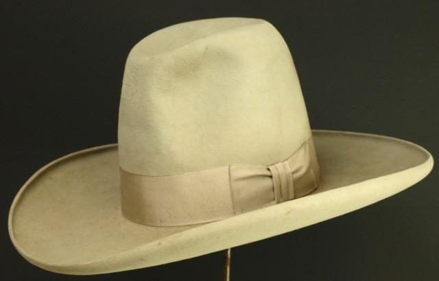 Image 1   C. 1920 s Stetson Tom Mix style rolled rim hat. 4a0df99c958