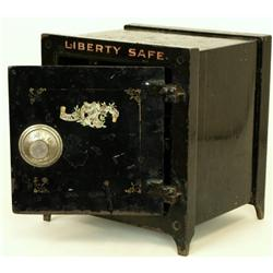 Late 19th Century safe by Liberty Safe Co.