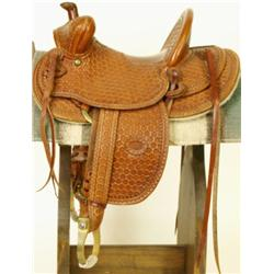Tad Mizwa miniature saddle 1920's styling