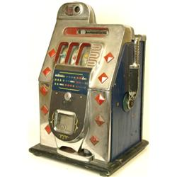 Mills Diamond Front 25c slot machine