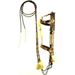 C. 1910-1920 Classic Rison harsehair bridle