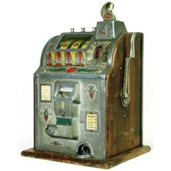 C. 1920's 10c Mills Jackpot Slot Machine
