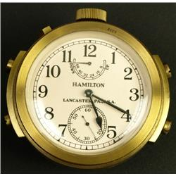 Hamilton Gimbal Chronometer C. 1941 with shipping