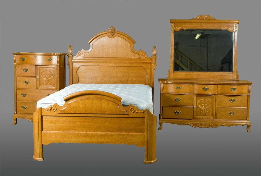 Image 1 : (4) Piece Lexington Bedroom Furniture Set