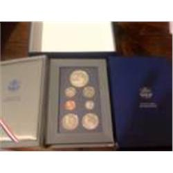 1986 Prestige Proof Silver Set