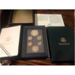 1990 Prestige Silver Proof Set
