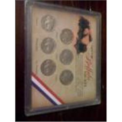 Rare Legend of Buffalo Nickel Set