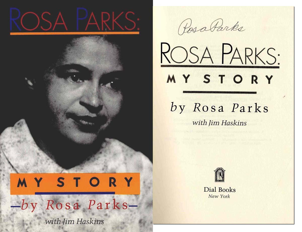 Rosa Parks Signed ''My Story''