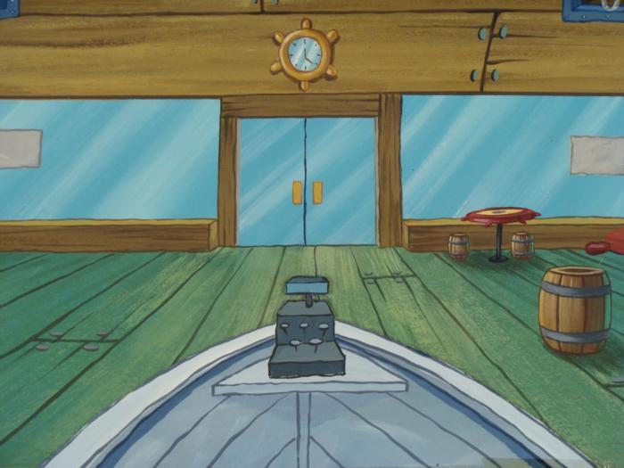 The Inside Of The Krusty Krab | - 45.3KB