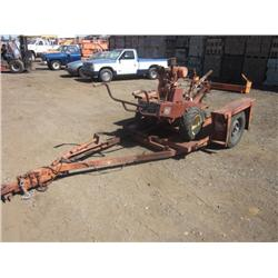 Ditch Witch 1500W  Walk Behind Trencher