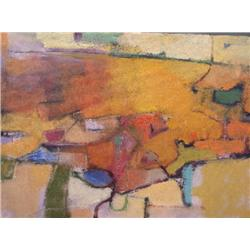 Ken Roth, Peripeteia, Signed Oil Painting