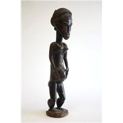 Old African wood carving