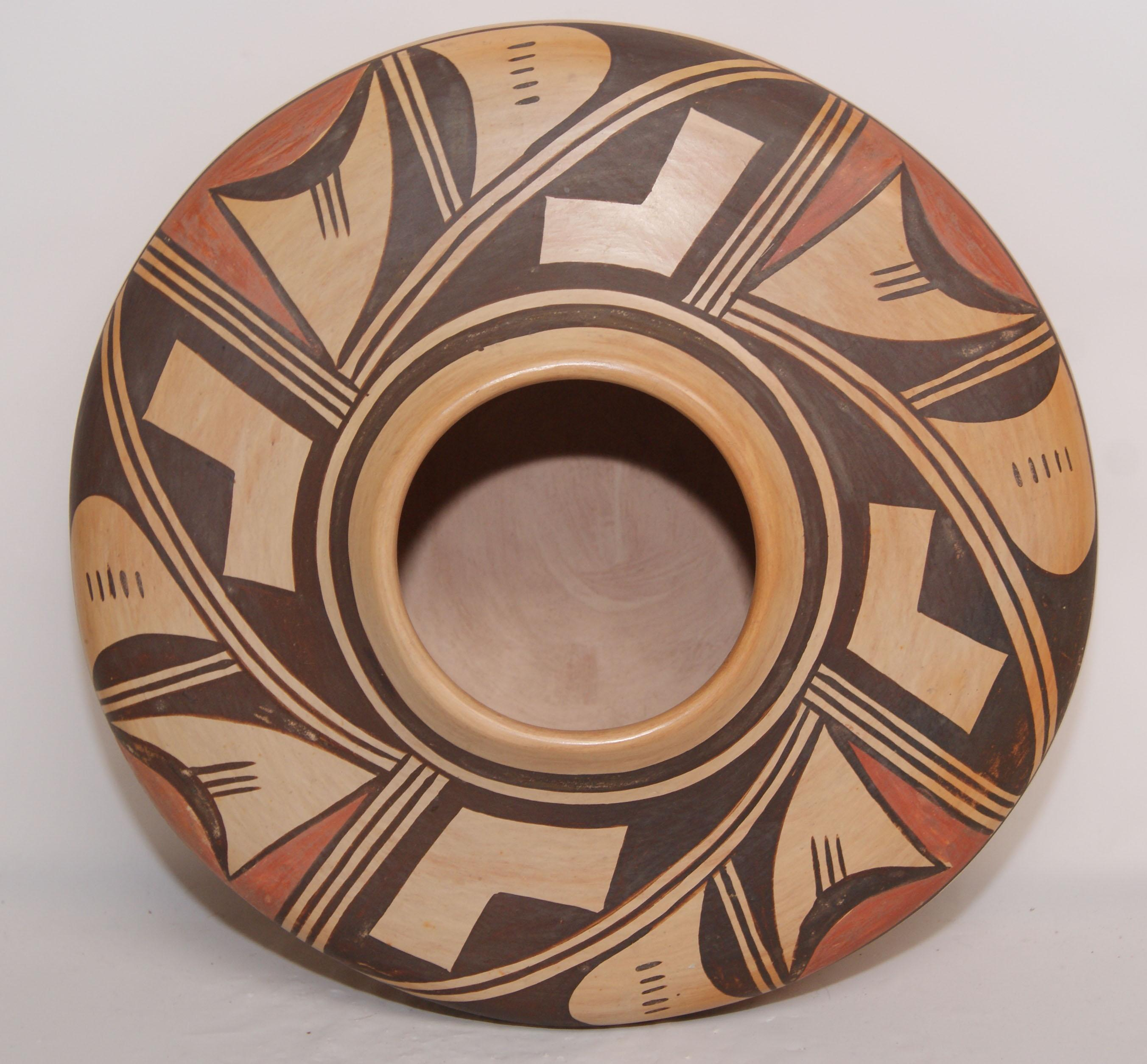 Hopi Pottery Designs Hopi pottery seed jarHopi Pottery Designs