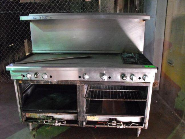 Commercial Stove Top Grill Oven