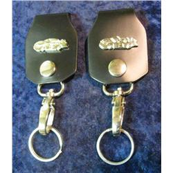 65. Father and Son Nascar Keychains. No.3 and No.8.  These numbers were