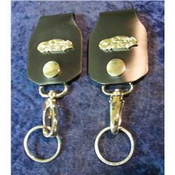 66. Father and Son Nascar Keychains. No.3 and No.8.  These numbers were