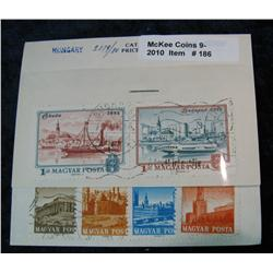 186. Collection of Hungary Stamps. Includes 2179/2180.