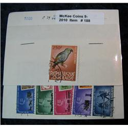 188. Collection of Togo Stamps. C39 & 5 piece set.