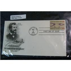 339. 1976 Centennial Birthday of the Telephone First Day Cover.