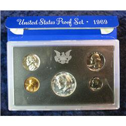 853. 1969S US Proof Set. Original as Issued.