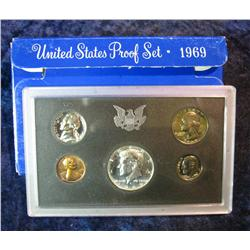854. 1969S US Proof Set. Original as Issued.