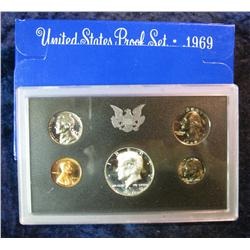 855. 1969S US Proof Set. Original as Issued.