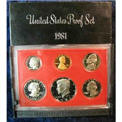 866. 1981S US Proof Set. Original as Issued.