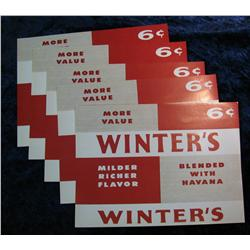 923. (5) Winter's 6c Cigar Box Lables.