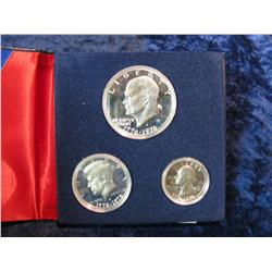 938. 1976S 3-Piece Silver Proof Set.