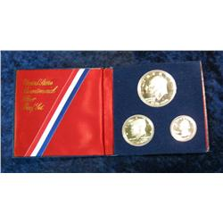 939. 1976S 3-Piece Silver Proof Set.
